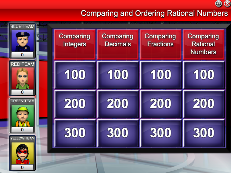 Comparing And Ordering Rational Numbers Worksheet ...